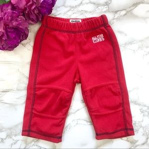 OshKosh Boys Red Fleece Sweatpants